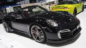 modified porsche 911 turbo techart porsche 911 turbo s cabriolet exterior walkaround