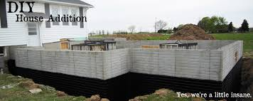 How Much Does It Cost To Pour A Basement by Diy House Addition Step 3 U2013 Foundation Diydiva