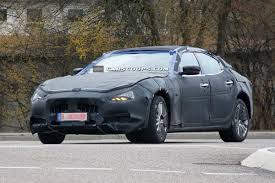 maserati snow scoop new maserati ghibli sports sedan wears production body