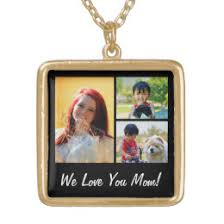 day necklaces mothers day necklaces lockets zazzle