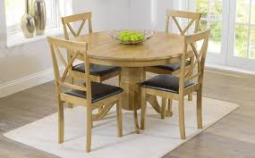 Oak Extending Dining Table And 4 Chairs Lovely Oak Dining Table And Chairs Dining Room The Gather House