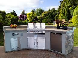 outdoor kitchen sink custom outdoor kitchens ideas on a budget