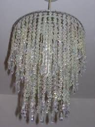 Tutorial On Diy Beaded Chandelier Beaded Chandelier Lamp Shades Foter