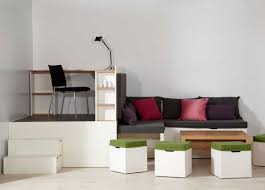 multi use furniture beautiful small space abode decorating