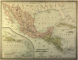 Maps Of Mexico by Map Of Mexico 1883