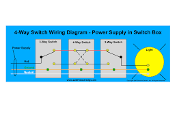 new four way switch wiring diagram 54 in how to wire a light