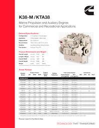 k38 m kta38 cummins marine pdf catalogues documentation