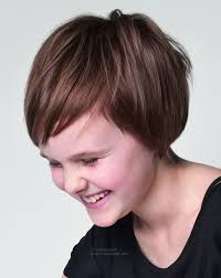 short easy to care for hair style for active little girls