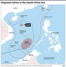 South China Sea Map by China Sends Missiles To Contested South China Sea Island Daily Sabah