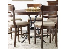 solid wood counter height table sets kincaid furniture the nook 54 round solid wood counter height table