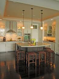 Kitchen Countertops And Backsplash Pictures Black Iron Gas Stove Black Shiny Backsplash Dark Countertops White