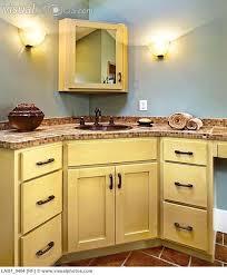 Corner Vanities Bathroom Stylish Corner Bathroom Vanity Cabinets Sink And Cabinets In