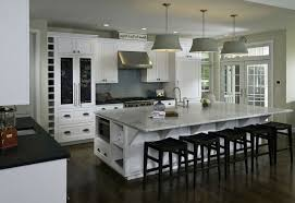 Modern Kitchen Island With Seating by Kitchen Room 2017 Modern Trends In Cherry Wood Kitchen Cabinets
