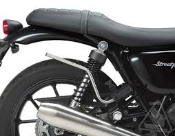 sw motech blaze sport saddlebag system for triumph bonneville t120