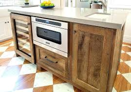Reclaimed Kitchen Cabinet Doors Reclaimed Wood Cabinet Doors Country Farmhouse Kitchen With