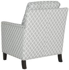Grey And White Accent Chairs Buckler Armchair Accent Chairs Safavieh Com