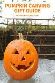 halloween pumpkin carving gift guide flour on my face