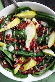 pomegranate pear u0026 pecan salad with poppyseed dressing creme de