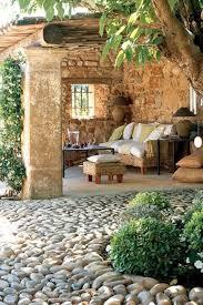 Rustic Backyard 57 Cozy Rustic Patio Designs Digsdigs