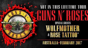 wolfmother and rose tattoo to support guns n u0027 roses in australia