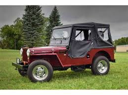 jeep willys for sale 1953 willys jeep for sale classiccars com cc 1002373