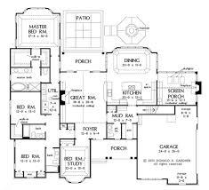 Donald Gardner Floor Plans European Style House Plan 4 Beds 3 50 Baths 2689 Sq Ft Plan 929 31