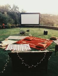 How To Make A Backyard Movie Screen by Diy Backyard Projector Screen Media Magazine