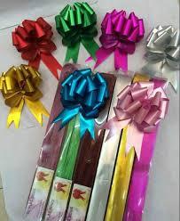 pull bow ribbon 100pcs lot 18mm gift ribbon birthday wedding home festive party car
