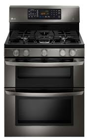Black Kitchen Appliances by Best 25 Gas Double Oven Ideas On Pinterest Gas Double Wall Oven