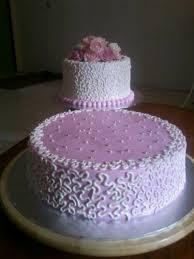wedding cake murah pink wedding cake kek comel by nis