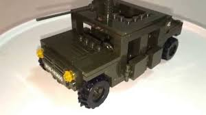 lego army humvee sluban hummer humvee review youtube