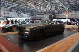 mansory rolls royce dawn mansory u0027s 2017 geneva stand is anything but subtle