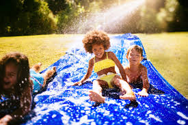 easy ways to make a water park right in your own backyard