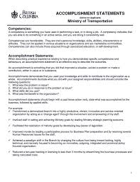 Resume Achievement Examples by Resume Achievement Statements Examples Free Resume Example And