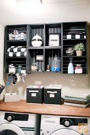 Organizing Laundry Room Cabinets Laundry Room Make Over Cubby Shelves Laundry Rooms And Laundry