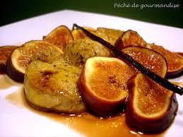 cuisiner les figues escalopes de foie gras aux figues péché de gourmandise