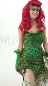 Poison Ivy Halloween Costume Kids Lethal Beauty Costume Womens Ivy Costume Ivy Superhero Costume