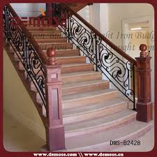Iron Grill Design For Stairs Incredible Grills Stairs Design Residential Wrought Iron Stair