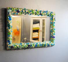 Home Mirror Decor Gem Stone Mirror 1 Bexbernard