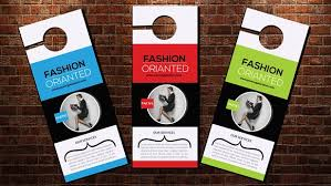door hanger flyer template business door hanger template flyer templates creative market