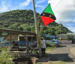 St Kitts Flag Life In St Kitts