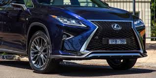 sporty lexus blue 2016 lexus rx350 f sport review caradvice