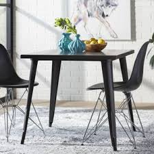 Metal Kitchen  Dining Tables Youll Love Wayfair - Metal dining room tables