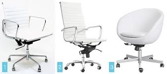 white office chair ikea ikea leather chairs leather chair white image ikea leather chairs