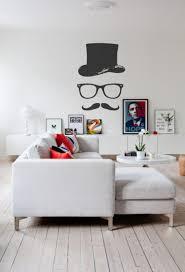 Wohnzimmer Wandgestaltung Moderne Wohnzimmer Wandgestaltung In Schwarz Und Weiß