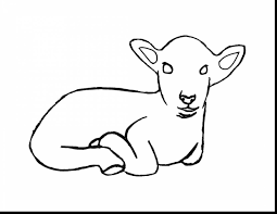 impressive jesus lamb of god coloring page with lamb coloring page
