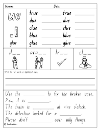 vowel digraph u0027ue u0027 english skills online interactive activity