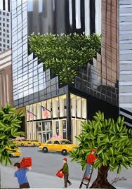 real fantasy1371 olives trees on trump tower