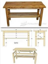 build a diy coffee table building plans by buildbasic www build