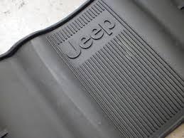 2014 jeep floor mats 2013 2014 jeep grand rubber slush floor mats oem